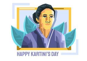 Kartini-Tag vektor