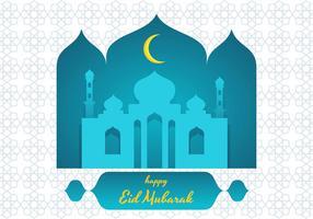 eid mubarak vektor illustration