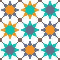 geometrisches nahtloses Muster islamischer Stil