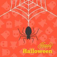 Halloween-Hintergrund und Tapete vektor