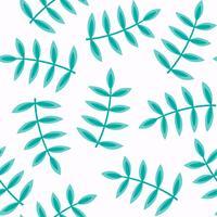 blommigt sömlöst mönster, platt design för användning som bakgrund, omslagspapper eller tapeter
