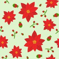nahtloses Blumenmuster, flaches Design für den Einsatz als Hintergrund