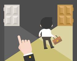 Affärsman väljer själv sin karriärväg