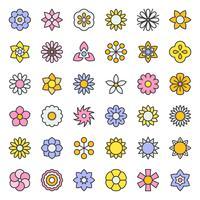 Blume und Blumen vektor