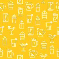 Nahtloses Muster der Küchengeräte für Tapete oder Packpapier