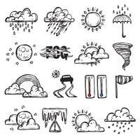 doodle väderuppsättning
