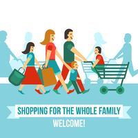 Einkaufszentrum-Konzept