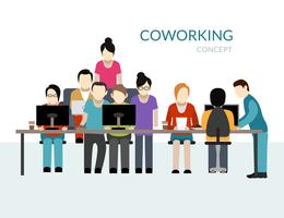 coworking center koncept
