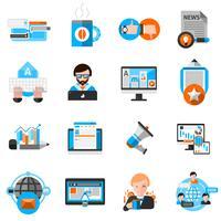 Inställningar för bloggikoner