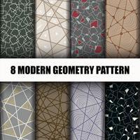 8 Ställ geometriska mönster