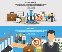 Management Banner gesetzt
