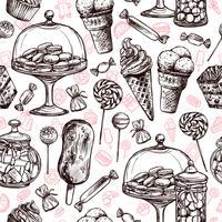 Süßes nahtloses Muster