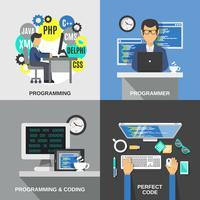 Programmerare Flat Set