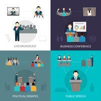 public speaking set