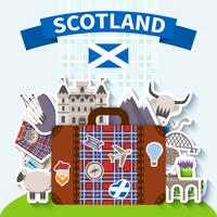 Skottland Resor Bakgrund