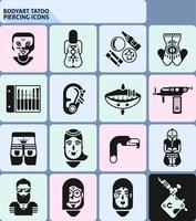 Piercing-Icons von Bodyart Tatoo