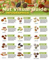 Muttern Infografiken Set vektor