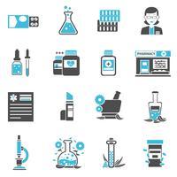 Apotheke Icons Set