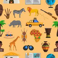 Afrika nahtlose Muster
