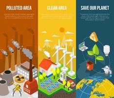 Eco Banner-Konzept