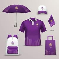 Promotions Souvenir Design Ikoner för företagsidentitet