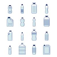 Plastflaskuppsättning
