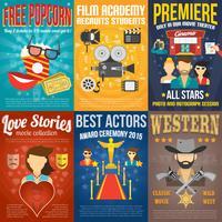 filmaffisch poster set