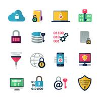 Datenverschlüsselungssymbole