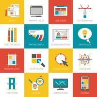Grafikdesign-Ikonen