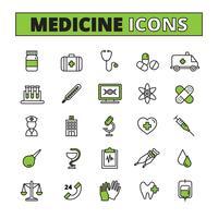 Medizinische Icons Set vektor