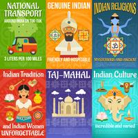 India affischuppsättning