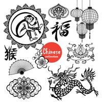 Kinesiska designelement