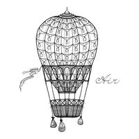 Luftballong vektor