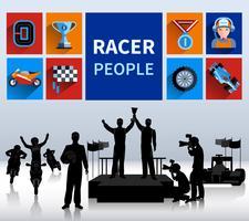 Racers Concept Illustration