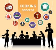 Leutekonzept kochen