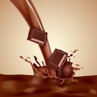 Schoko-Milch-Illustration