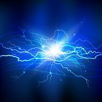 Blauer Blitz-Hintergrund vektor