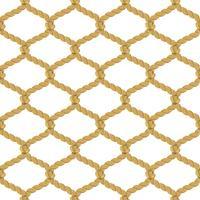 rep nät sömlösa mönster vektor