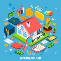 Hypothekendarlehen-Konzept