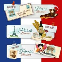 Paris turistiska banderoller