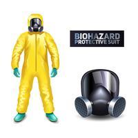 biohazard skyddsdräkt