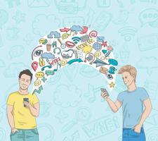social nätverksaktivitet