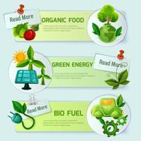 Ökologie-Banner-Set