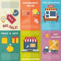 Mini-Poster zum Einkaufen