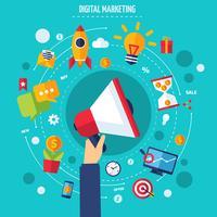 digital marknadsföringskoncept