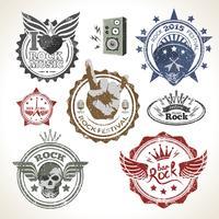 Rock Festival Briefmarken