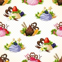 Süßigkeiten nahtlose Muster