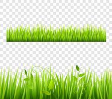 Gräsgränsen Tileable Transparent