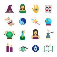 Fortune Teller ikon platt