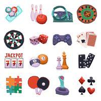 Spiel Icons Set